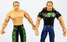DX Shawn Michaels WWE Jakks Ruthless Aggression Action Figure Lot