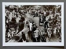 Raghu Rai Limited Ed. Photo 24x17cm Chawri-Bazar Delhi Indien 1972 India B&W Art