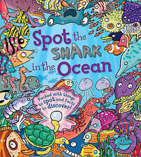 Spot the Shark in the Ocean-ExLibrary