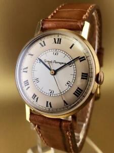 VINTAGE & FINE GIRARD PERREGAUX 2 TONE DIAL  HAND WINDING  1950 WristWatch