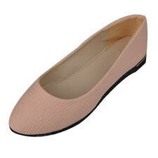 Women's Solid Leather Flats