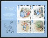 GREAT BRITAIN 2016 BEATRIX POTTER  SOUVENIR SHEET  MINT NEVER HINGED