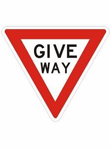 Regulatory Road Signs -  GIVE WAY SIGN (REGULATORY)