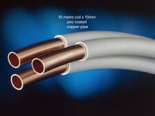 10 METRE COIL 10MM PVC COPPER COATED TUBE/PIPE SUITIBLE GAS/WATER/OIL/HEATING