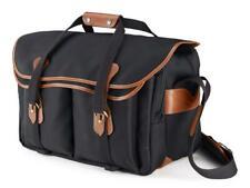 Billingham 555 Extra Large Camera / DSLR Bag in Black with Tan Trim (UK) BNIP