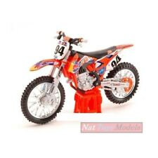 Motocross di modellismo statico in plastica scala 1:18