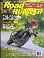 Road Runner December 2020  Motorcycle Touring & Travel