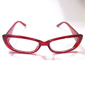 Emo Punk Nerd 90s 2000s Gothic Lolita Clear Lens Sunglasses Red Frame Glasses