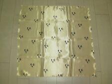 WEILL Foulard / Carré beige motifs Cavalerie