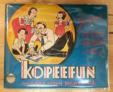 1940 Kopeefun Magic Copy Paper Kit booklet w/ Stick & Sheets s7 Art & Crafts Fun