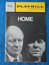 Home - Morosco Theatre Playbill - December 1970 - John Gielgud - Richardson