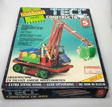 TEEC Constrauction box 5 Baukasten Vintage wie Neu