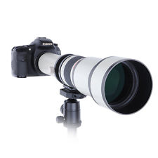 650-1300mm f/8-16 Long Range Telephoto Zoom Lens for Nikon DSLR Camera + T Mount