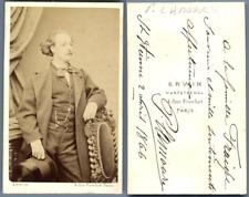 Erwin, Paris, P. Lamour vintage carte de visite, CDV  CDV, tirage albuminé, 6