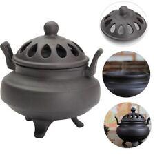 Vintage Ceramic Sandalwood Incense Burner Charcoal Buddhist Censer Holder