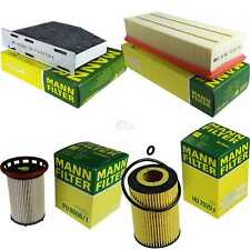 MANN-FILTER PAKET Seat Alhambra 710 711 2.0 TDI 4Drive 7N1 7N2 4motion quattro