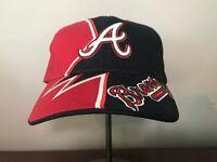 Vintage Atlanta Braves Hat Cap NWT Adjustable Twins Enterprise Deadstock RARE
