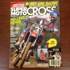 AUGUST 1988 SUPER MOTOCROSS ACTION BROC GLOVER JEFF WARD KEHOE vs HOLLAND RM250