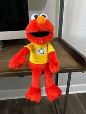 Sesame Street Elmo Let's Imagine Plush Doll Talking Hasbro 2013