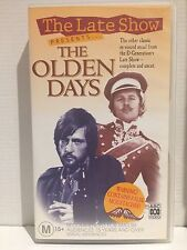 D GENERATION ~THE LATE SHOW PRESENTS THE OLDEN DAYS COMPLETE UNCUT ~ VHS VIDEO