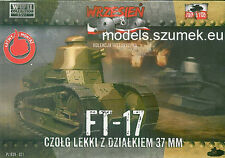 First to Fight 021 light tank FT-17 37 mm 1/72