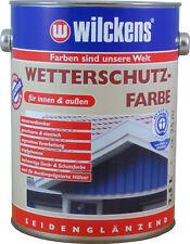 € 8,49 L/10L Wetterschutzfarbe Holzdeckfarbe RAL 7016 anthrazitgrau innen/außen