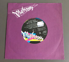 """JIMMY BARNES - I'd Die To Be With You Tonight 7"""" Vinyl Record GD 1985 Aus Press"""