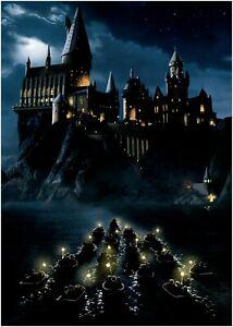 Harry Potter Hogwarts Castle Movie Large Poster Art Print Maxi A1 A2 A3 A4