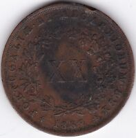 1867 Portugal Copper 20 Reis | Pennies2Pounds