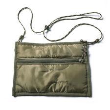 Bronson Nylon Liner Crossbody Military Messager Bag For Unisex Olive Small M-65