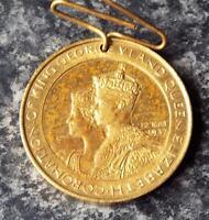 King George VI & Queen Elizabeth 1937 Borough of Chatham Coronation Medal