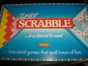 Junior Scrabble Spears 1989 Replacement Letter Set Counters Rules Scorepad