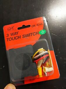 OK Touch Lamp Control Replacement Sensor Repair Conversion Kit For 3 Way Lamps