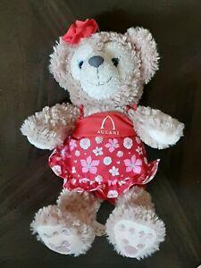 "Disney Parks Aulani Disney Resort Exclusive Hawaiian Shellie May Bear Plush 12"""