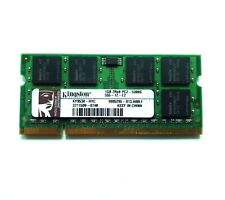 1gb (1 x 1gb) Kingston ddr2 SO-DIMM RAM 5300s 667mhz 200 pin per MacBook/Pro