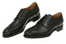 NEW GUCCI GOODYEAR BLACK WINGTIP LEATHER OXFORD LACE-UP DRESS SHOES 9/US 9.5