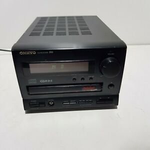 Onkyo CR-185 R1 CD Receiver Compact Stereo Amplifier CD / TUNER / TAPE / MD