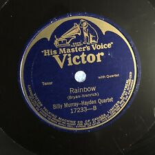 Dudley/Macdonough/Murray/Hayden–Red Wing/RAINBOW [78RPM] VICTOR 0917233 (VG+)