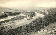 1930s Printed PC French Azilum from Roosevelt Hwy, Sullivan Trail by Towanda PA