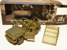 Mercedes W 461 G Modell WOLF oliv BUNDESWEHR german army, Cursor in 1:35 boxed!