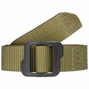 """5.11 TDU Tactical Double Duty Belt 59568 Green XL 40 - 42"""" Waist"""