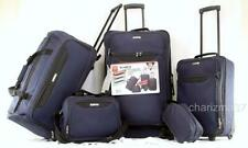 TAG SPRINGFIELD III 5 PIECE NAVY BLUE LIGHTWEIGHT SPINNER LUGGAGE SET NEW