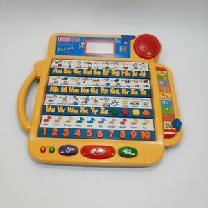 VTECH Little Smart Alphabet Picture Desk Learning Electronic Toy Working damaged