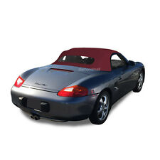 Porsche Boxster 1997-02 Convertible Soft Top & Heated Glass Window Bordeaux STF