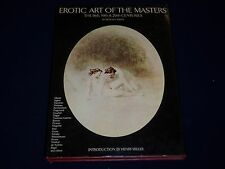 EROTIC ART OF THE MASTERS 18TH 19TH & 20TH CENTURIES BOOK - I 354