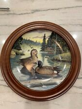 The Blue Winged Teal Plate by Bart Jerner 1988