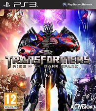 PS3 PlayStation 3 Transformers Rise of the Dark Spark Brand New Sealed Game