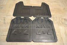 Lada Niva Mudflaps Kit 4X4 Logo 2121-8404310 + 2121-8404311 + 2121-8404312