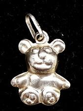 Vintage Sterling Silver charm teddy bear.