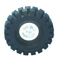 Falta Lego Ladrillos 3482 & 3634 Blanco & Negro Rueda Centro grandes & neumático 17 X 43